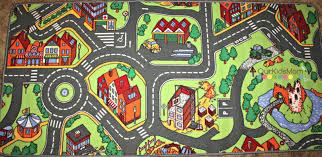 Kids Race Track Rug by Kids Car Carpet Carpet Vidalondon