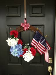 American Flag Walmart 4th Of July Memorial Day Wreath All Products From Walmart