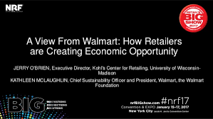 The Economic View From The A View From Walmart How Retailers Are Creating Economic Opportunity