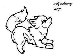 coloring page of wolf get this baby wolf coloring pages 6751