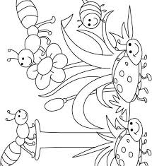 preschool coloring pages bugs birds and insects coloring pages bug coloring pages for preschool