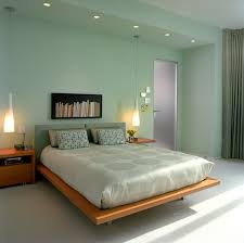 modern bedroom ideas with green color scheme home interior