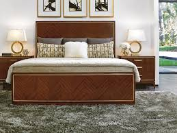 take five carlyle panel bed lexington home brands