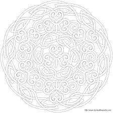 shamrock mandala mandala picture to color star mandala coloring