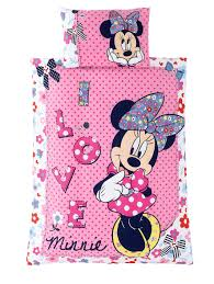Minnie Mouse Bedroom Set Toddler Minnie Mouse Toddler Bedding Set Shopaholic Woolworths Co Uk