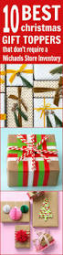 10 best diy christmas gift toppers that don u0027t require a michaels