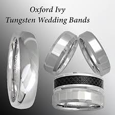 Mens Tungsten Wedding Rings by 5mm Mens Plain Comfort Fit Tungsten Wedding Band Available Ring
