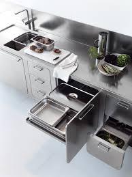 kitchen all stainless steel kitchen design idea by abimis kitchen