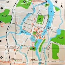 Shanghai Map China City Tourist Maps Maps Of China City Tourist