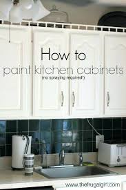 Spray Painting Kitchen Cabinets White How To Paint Kitchen Cabinets Spray Painting Kitchen Cabinets