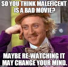 Maleficent Meme - creepy condescending wonka meme imgflip