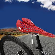 si e selle ergonomique yafee montagne vélo vélo ergonomie creux en plastique araignée selle
