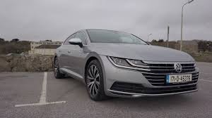 volkswagen arteon rear volkswagen arteon review youtube