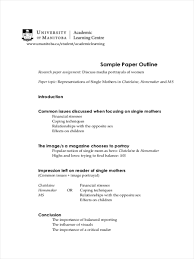 essay outline sample examples 23 free outline examples free paper outline example