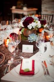 Burgundy Wedding Centerpieces by 20 Rustic Wedding Centerpieces With Bark Container Rustic