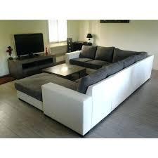 grand canapé pas cher grand canape en u d angle moderne amovible toile de canapac