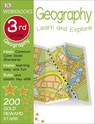 dk workbooks geography third grade dk 0790778028497 amazon