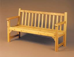 Free Wood Bench Plans by Garden Bench