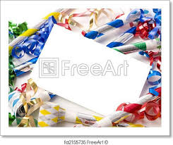 new years streamers free print of new years or birthday party invitation a