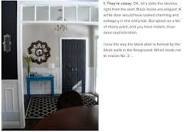 why you u0027ll fall in love with black doors too messy by design