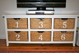 Living Room Toy Storage by Diy Wicker Toy Storage Unit Number Make Over U2013 Restyle Relove