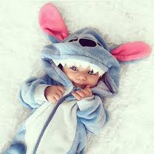 awe ernesto is going to be stitch this halloween baby boy