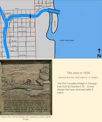 Chicago Riverwalk Map by Chicago Movable Bridge Eras In Maps