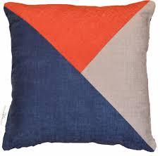 paprika triangle cushion high quality cushions twickenham