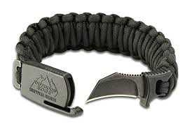 survival bracelet with buckle images Outdoor edge paraclaw black medium pck 80c paracord survival jpg