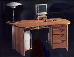 Schreibtisch Naturholz Massivholz