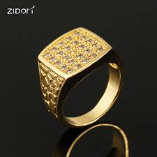 new mens rings images 2018 new style gold silver color high quality 100 cz aaa zircon jpg