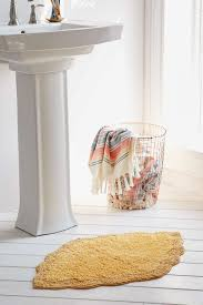 Yellow Bathroom Rugs Yellow Bath Rugs Decor By Color