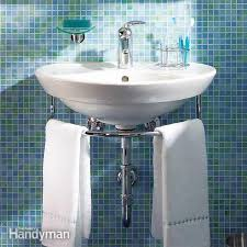 Pedestal Sink With Towel Bar Re Bath Of The Triad Which Type Of Bathroom Sink Is Right For Your
