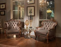 Carved Armchair In Classic Luxury Style Idfdesign