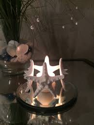 4 starfish candle holder bathroom decor living room bedroom