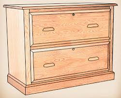 1 Drawer Lateral File Cabinet by Oakwood Furniture Amish Furniture In Daytona Beach Florida