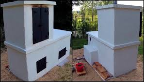 Backyard Smokers Plans Build An All In One Smokehouse Pizza Oven And Grill In Your