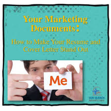 your job search marketing documents how to make your resume and cove u2026