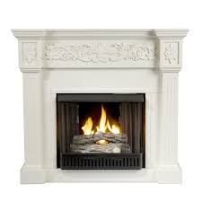 amazon com sei calvert gel fuel fireplace ivory kitchen u0026 dining