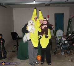 Halloween Costumes Monkey Monkey Bunch Bananas Family Halloween Costume