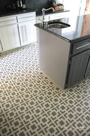 diy stenciled floors a full tutorial designer trapped