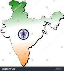 World Map Of India by Map India Flag Stock Illustration 5890762 Shutterstock