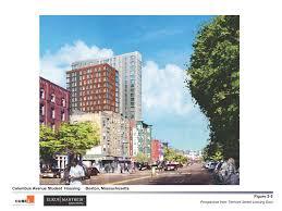 columbus ave student housing 10 burke st northeastern