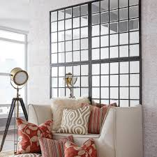 Mirrored Wall Decor by Square Metal Mirrors Wall Decor The Home Depot