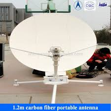 1 2 metros flyaway vsat de banda ku antena antenas de comunicação