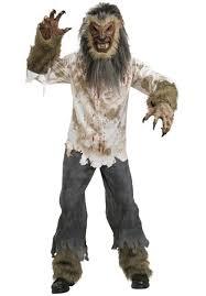 Werewolf Costume Werewolf Costume Very Scary Escapade Uk