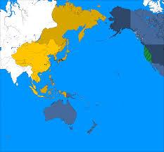 map us japan alternate history map us japan cold war by likaaon on deviantart