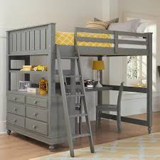 Bunk Bed With Desk And Dresser Ne Lake House Loft Bed With Desk And Dresser Pilgrim