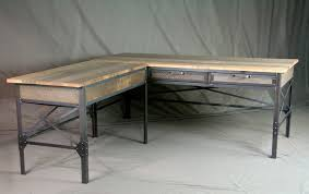 Industrial Table L Combine 9 Industrial Furniture Industrial L Shaped Desk With