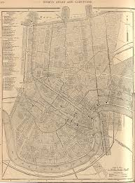 Old Map New York City by